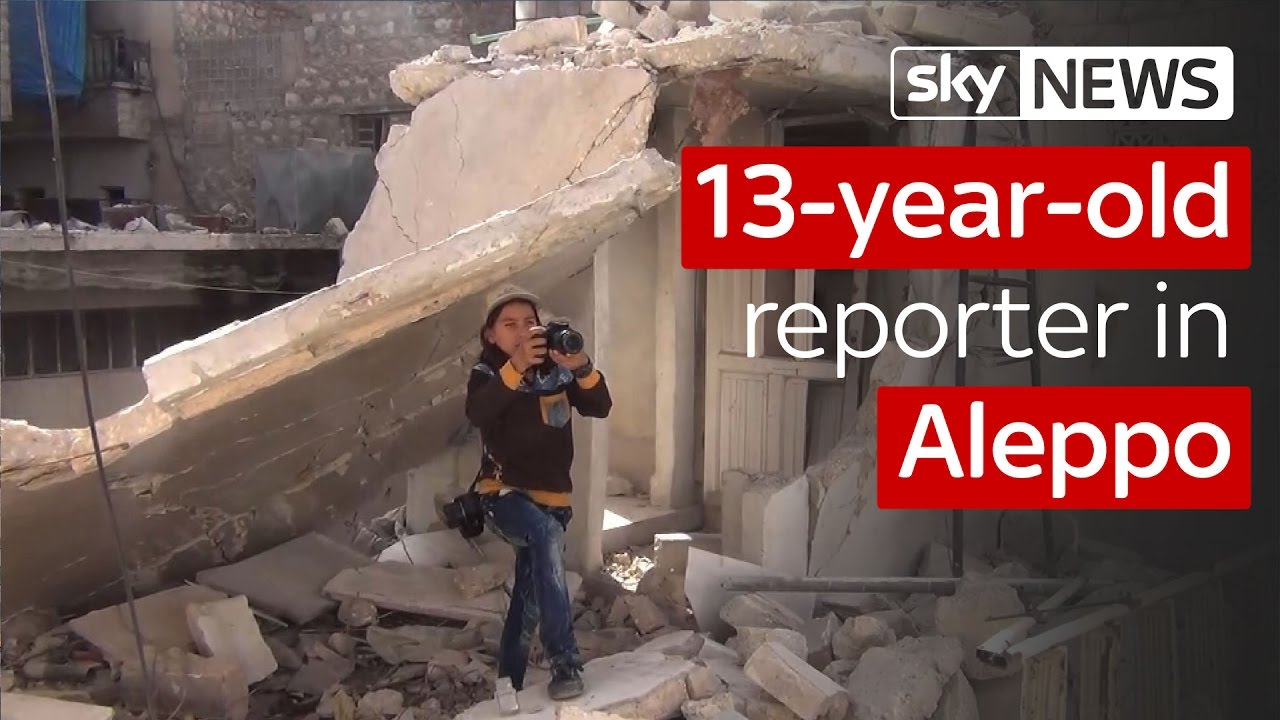 13-Year-Old Reporter In Aleppo 1