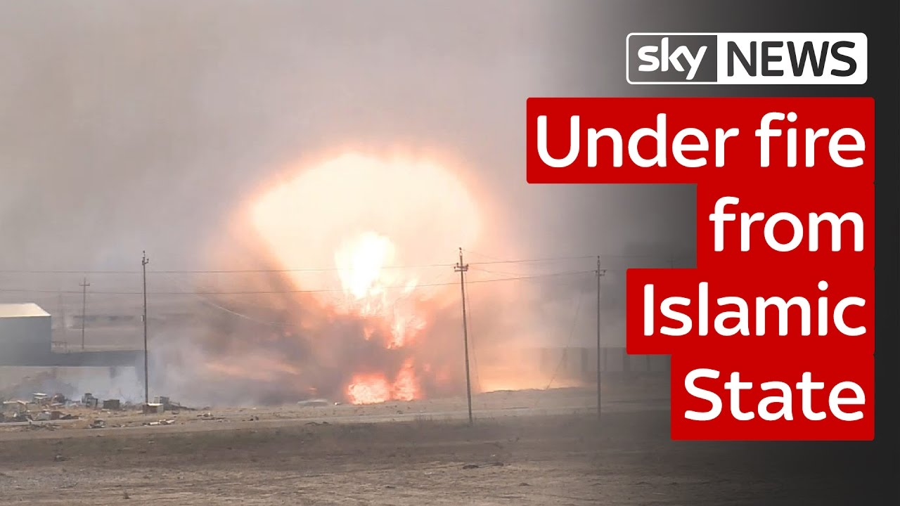 The battle for Mosul: Sky crew under fire from Islamic State 7