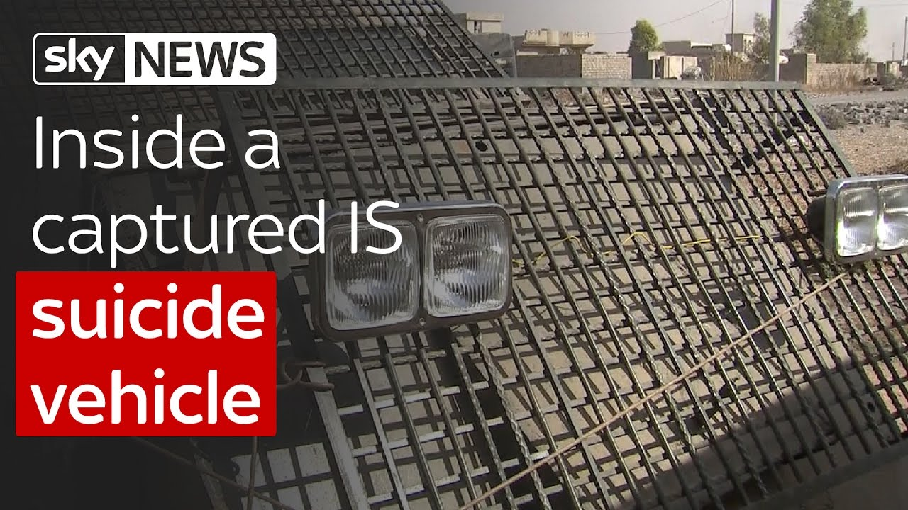 Inside a captured Islamic State suicide vehicle 8