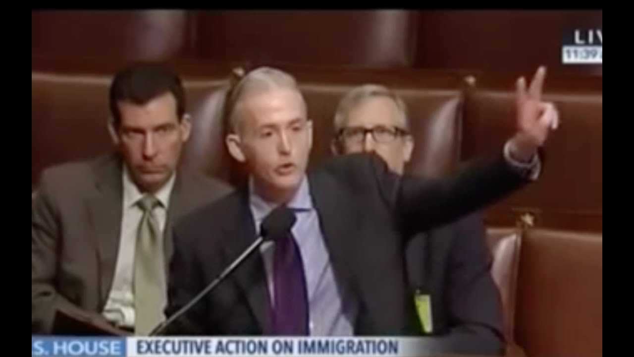 "Trey Gowdy tells Obama ""F**K Off with Your Executive Order!"" 2"