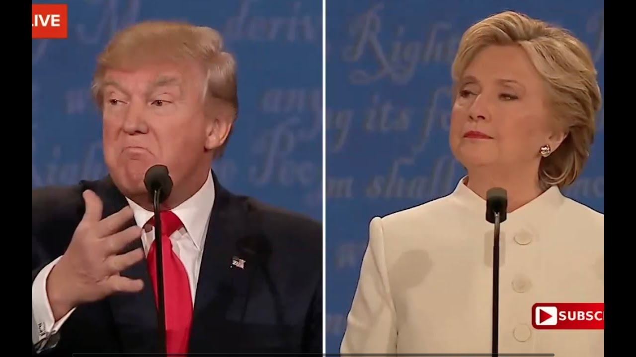 Full: Third Presidential Debate. Donald Trump vs Hillary Clinton. October 19, 2016 3