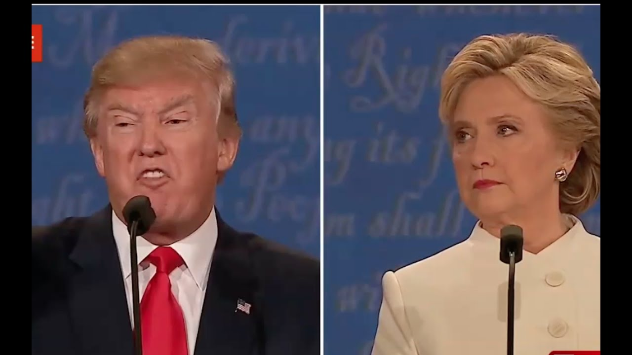 Donald Trump Goes for the Knockout at Last Debate! 10/19/16 4