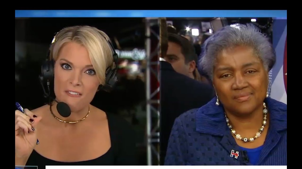 Megyn Kelly makes Donna Brazile Ashamed of Herself! 10/19/16 Interview 6