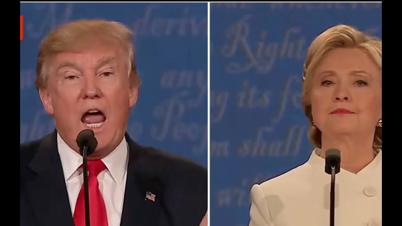 Donald Trump Explodes on Hillary Clinton after she Mentions His Taxes! 10/19/16 3