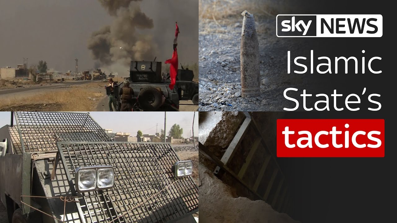 Islamic State's tactics in the battle for Mosul 2