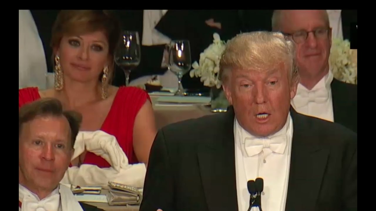Full: Donald Trump Al Smith Dinner Speech 10/20/16 11