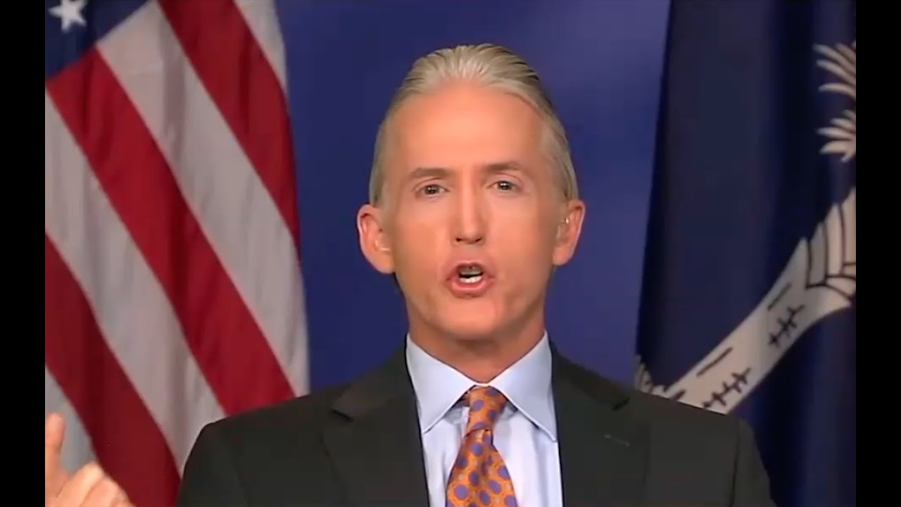 Trey Gowdy isn't Falling for FBI Bullshit! PISSED OFF! 10