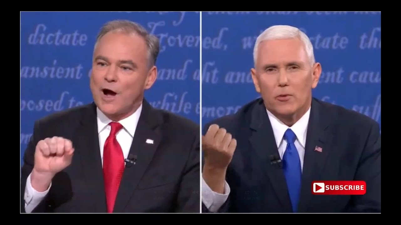 Full Vice Presidential Debate 10/4/16 6
