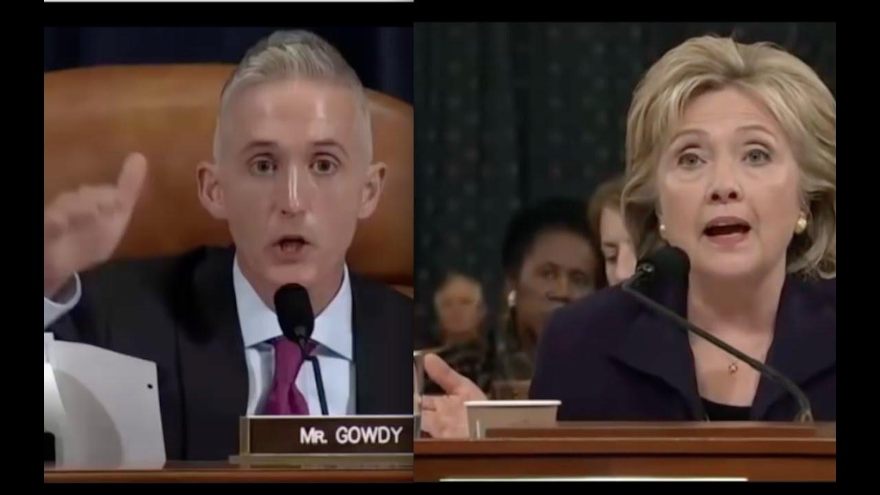 Hillary Clinton Bullshits Trey Gowdy for 15 Minutes! 6