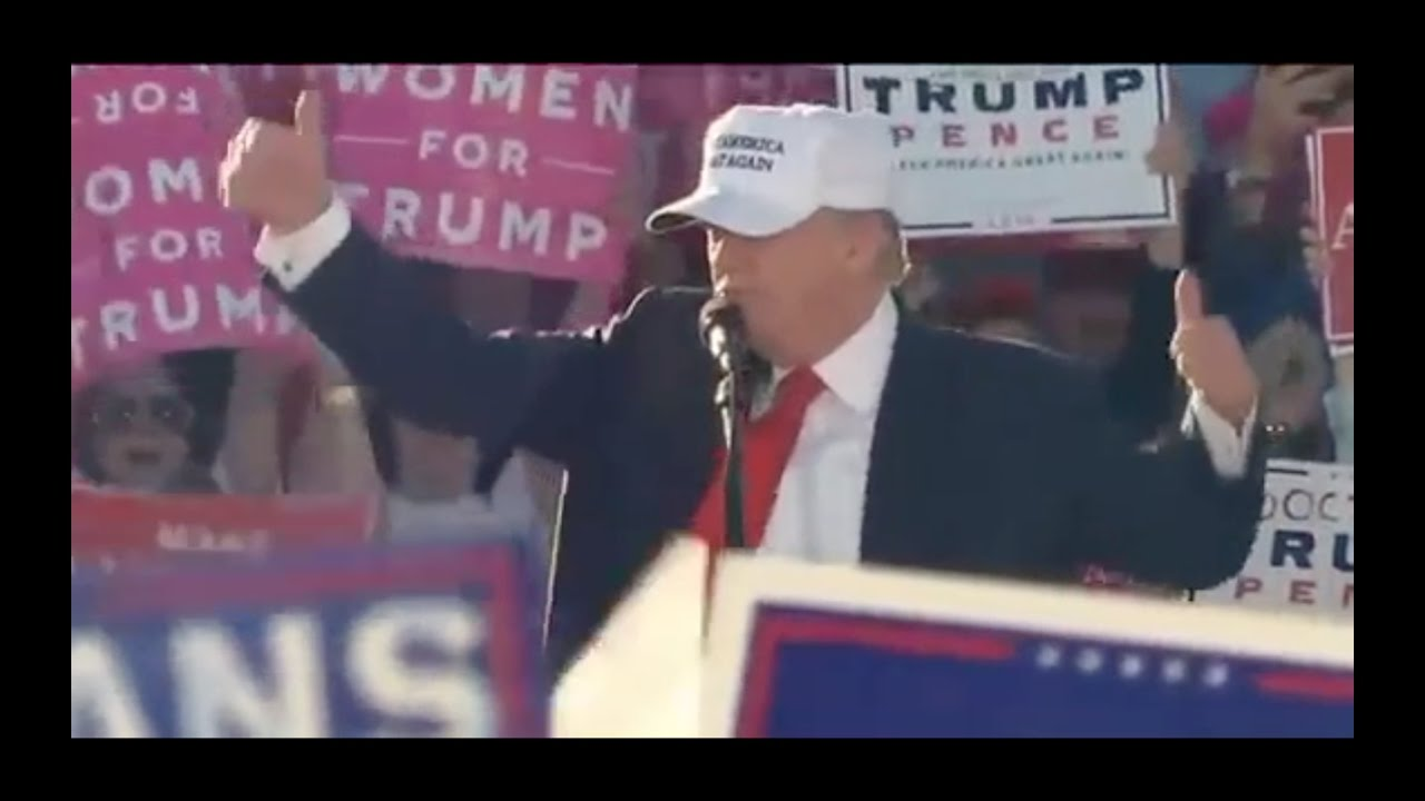Donald Trump Speech 10/23/16: Winning Nationally! Naples, Florida Rally 2