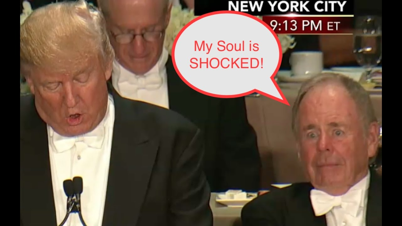 Donald Trump Shocks the SOUL of Man Next to Him! 12