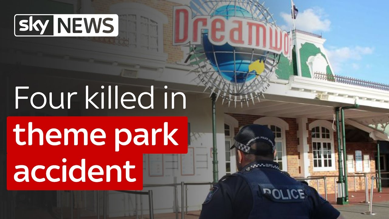 Four killed in theme park accident 9