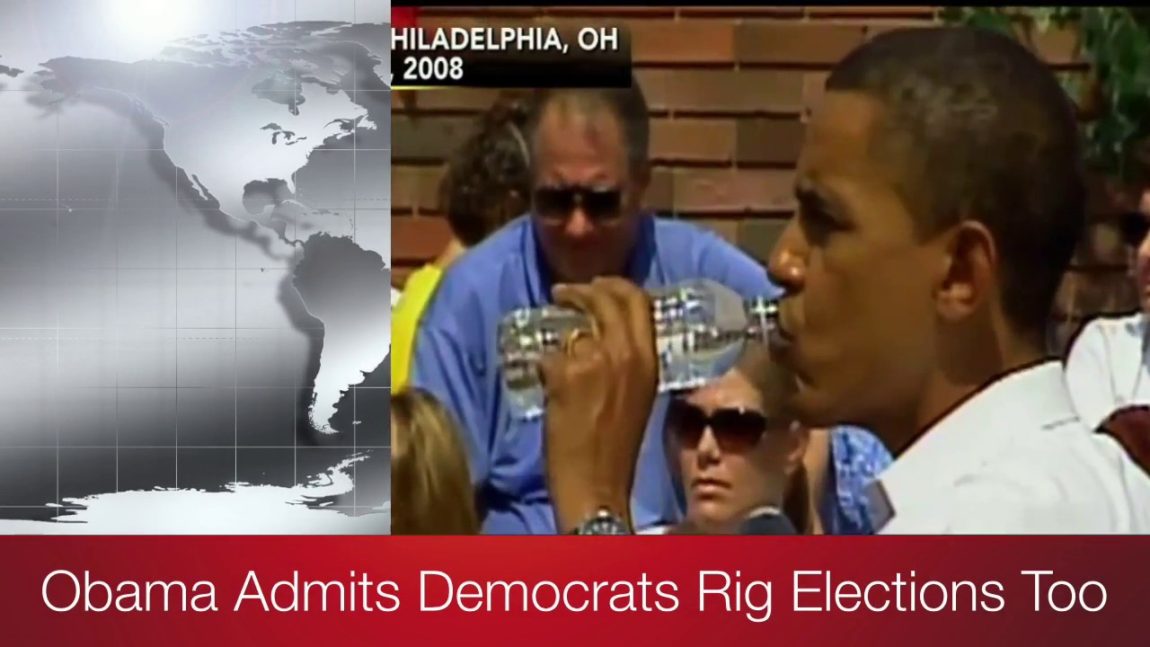 Obama Admits Democrats Rig Elections Too! 11