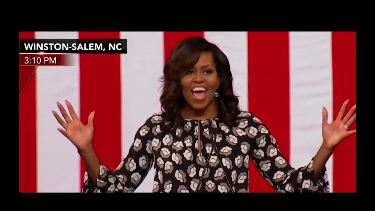 Full: Michelle Obama Speech 10/27/16 Winston-Salem, NC 1