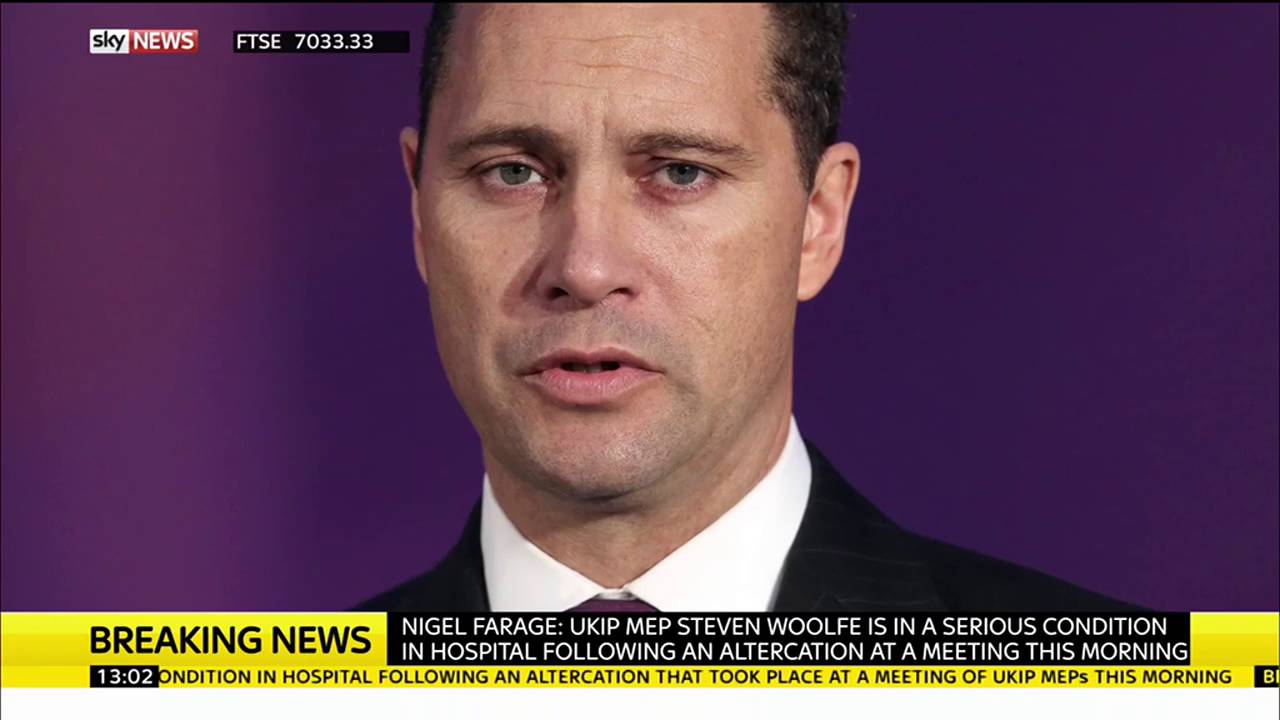 UKIP's Steven Woolfe seriously ill in hospital after 'altercation' 7