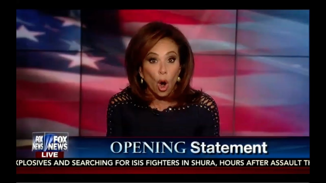 FBI REOPENS Hillary Case! Judge Jeanine Opening Statement 10/29/16 7