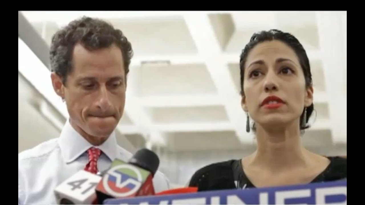 Huma Abedin & Anthony Weiner at Center of FBI Reopening Hillary Case! 1