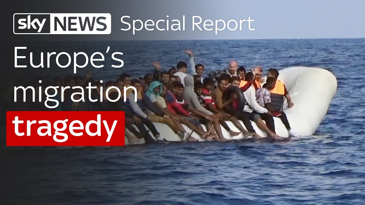 Europe's Migration Tragedy - life and death in the Mediterranean 12