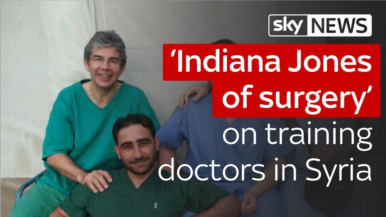 'Indiana Jones of surgery' on training doctors in Syria 1