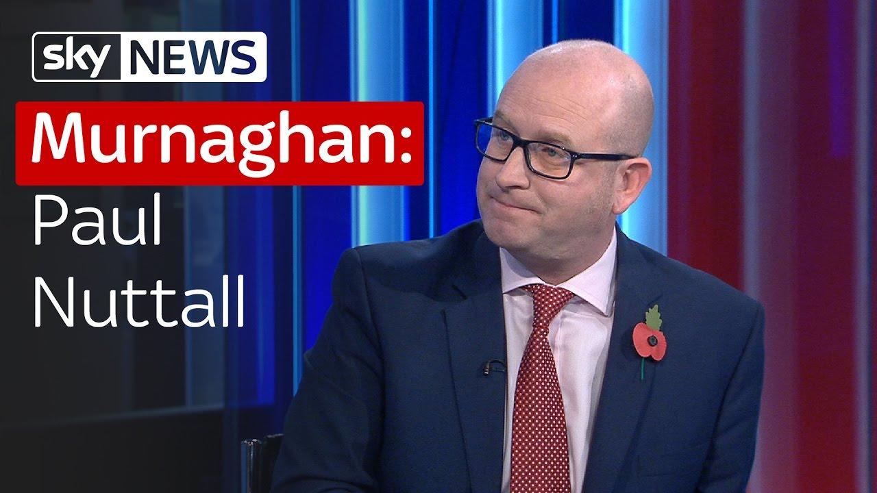 Murnaghan: Paul Nuttall 7