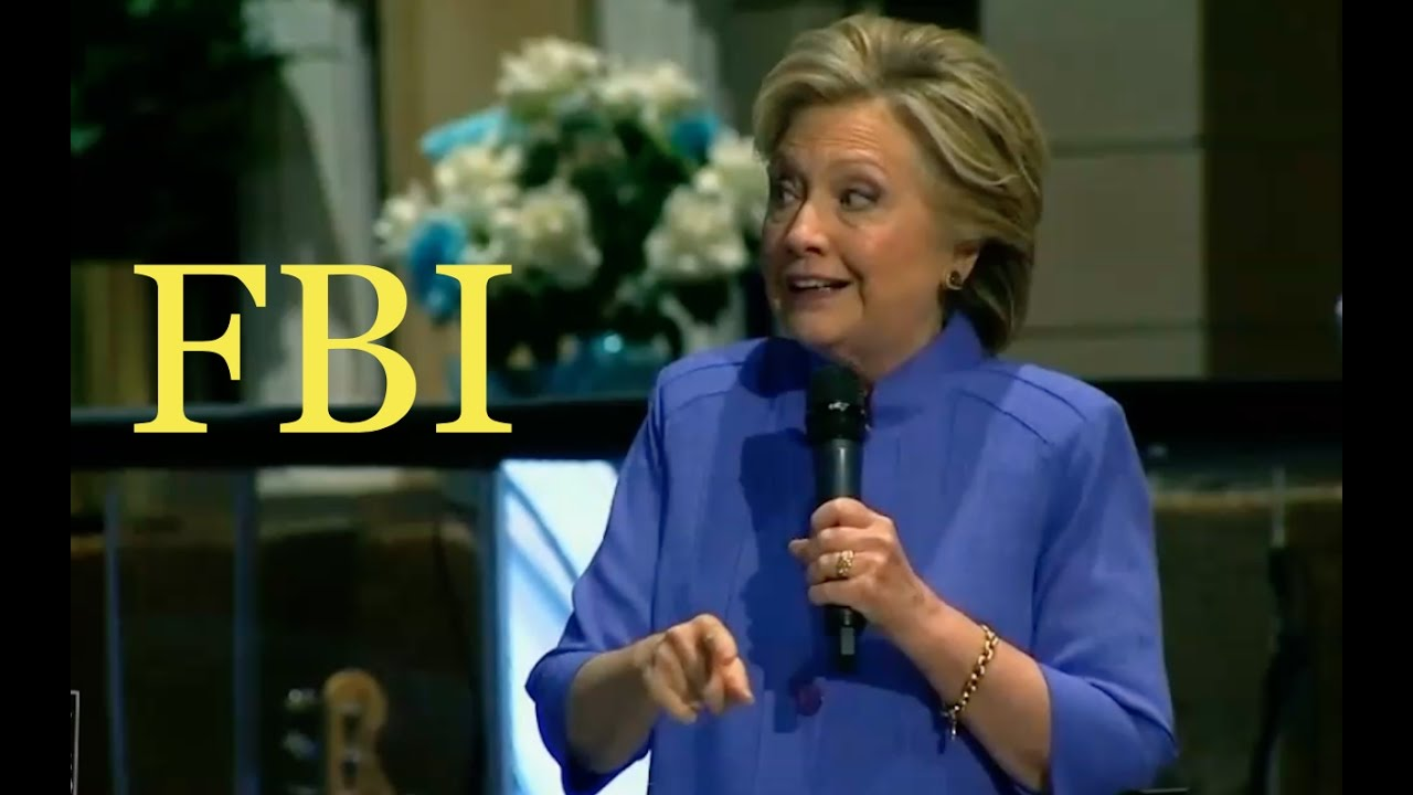 FBI Still Investigating Clinton Foundation Pay to Play! 10/30/16 5
