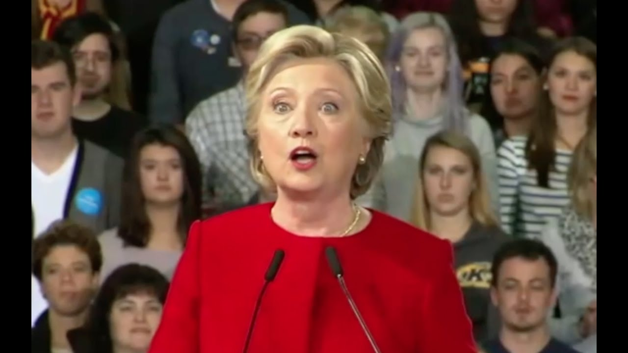 "Hillary Clinton Says Ignore New Email Scandal, ""No Case Here"" 10/31/16 8"