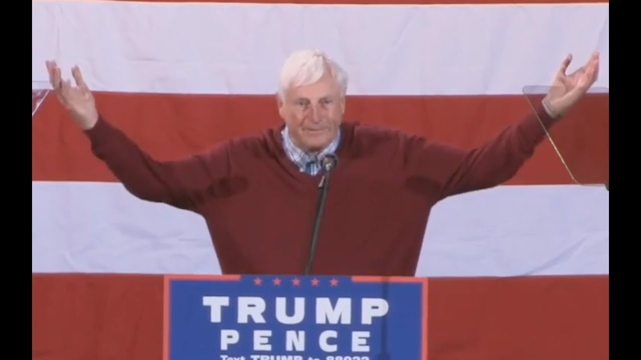 Bobby Knight Speech: We NEED Donald Trump! 10/31/16 5