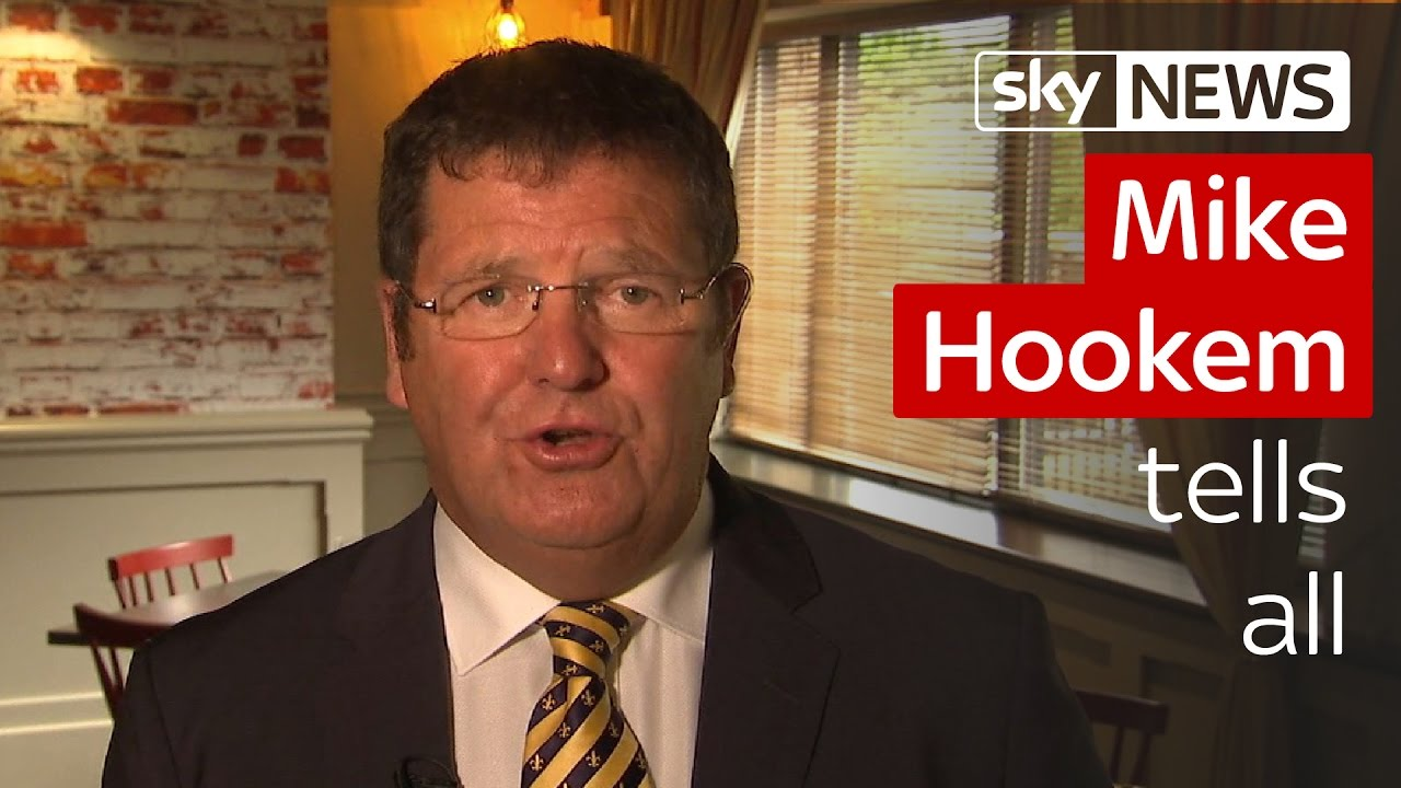 Mike Hookem tells all on Woolfe scuffle 6