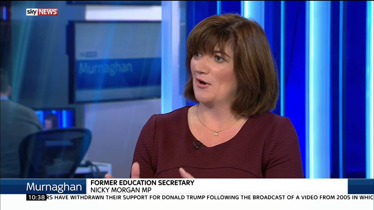 "Nicky Morgan: Listing foreign workers ""isn't the Amber Rudd I know"" 10"