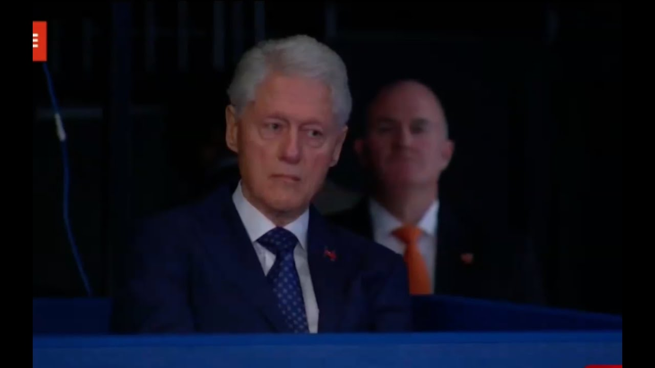 Bill Clinton Almost Cries After Trump Exposes Scandals! 10/9/16 9
