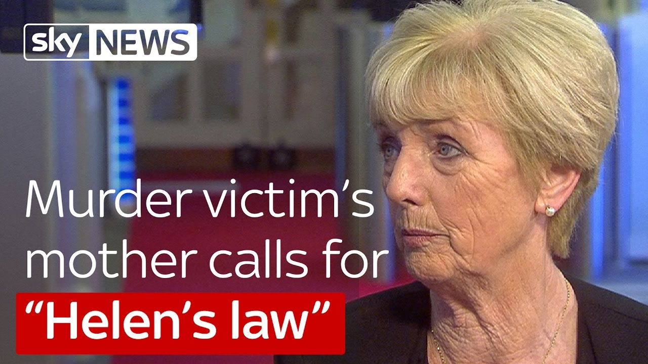 Murder victim's mother calls for Helen's Law 7