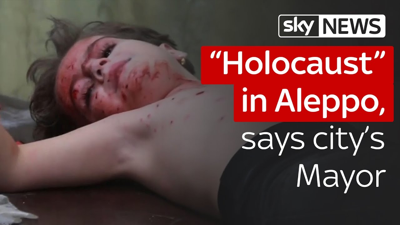 """Holocaust"" in Aleppo, says city's Mayor 2"
