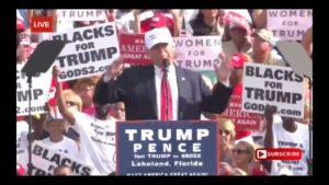 Donald Trump Speech 10/12/16: Lakeland, Florida Rally 7