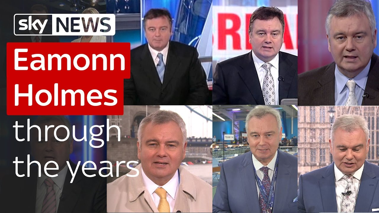 Eamonn Holmes through the years 3