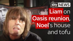 Liam on Oasis reunion, Noel and tofu 8