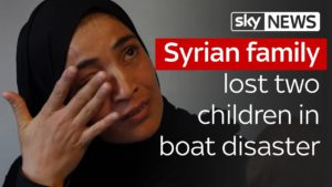 Syrian family lost two children in boat disaster 9