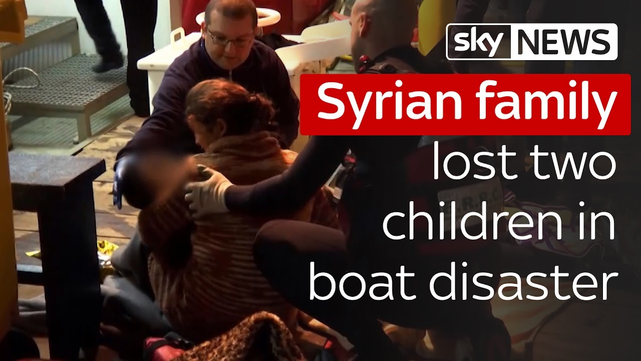 Syrian family lost two children on the way to Sweden 7