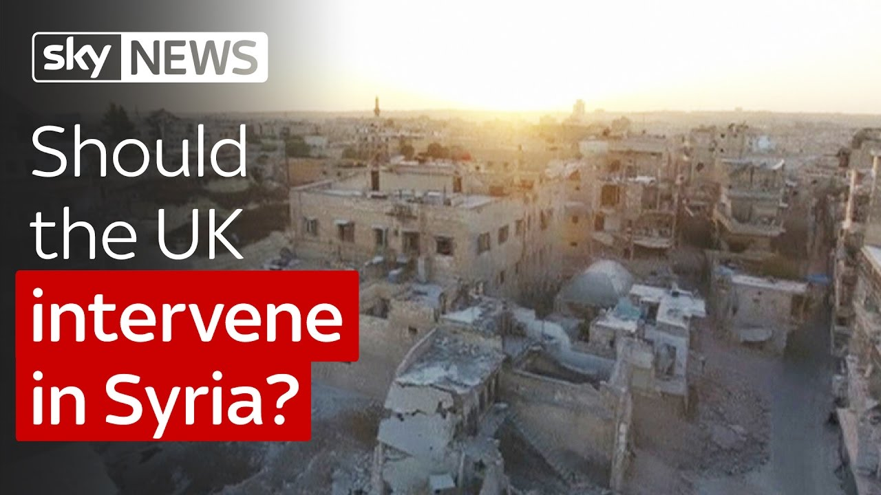 Should the UK intervene in Syria? 1