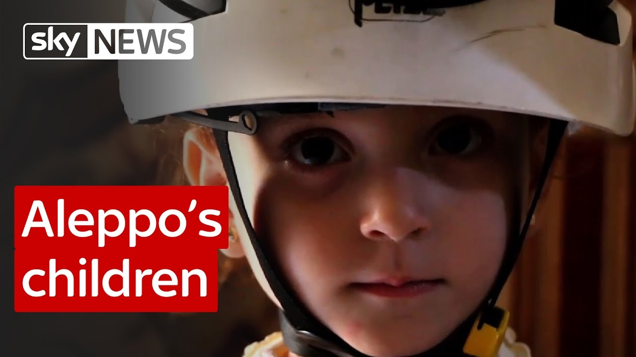 Aleppo's children: Report from Sky's special correspondent 1