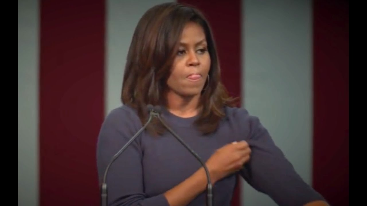 Michelle Obama Pissed! Goes After Donald Trump! 10/13/16 10