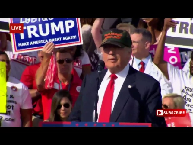 Full: Donald Trump Speech 10/25/16: Sandford, Florida 6