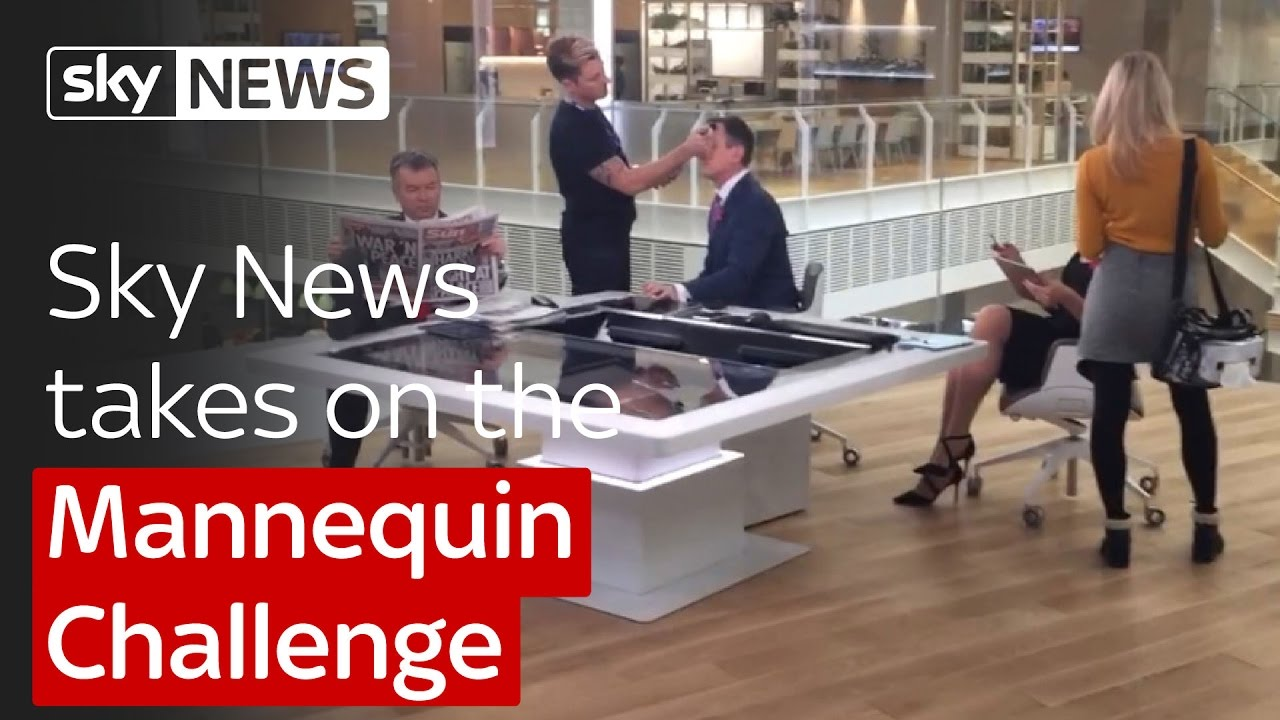 Sky News takes on the Mannequin Challenge 4