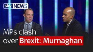 Remain MP Chuka Ummuna and Leave MP Dominic Raab clash over Brexit: Murnaghan 4