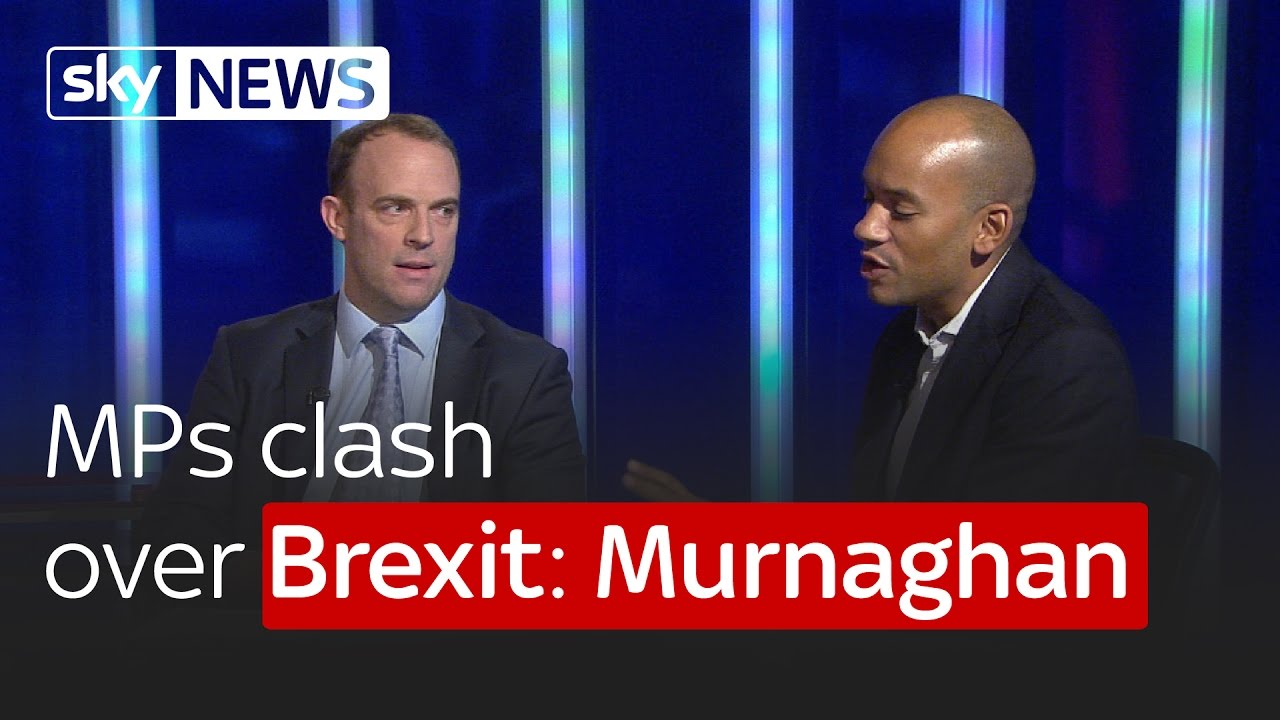Remain MP Chuka Ummuna and Leave MP Dominic Raab clash over Brexit: Murnaghan 7