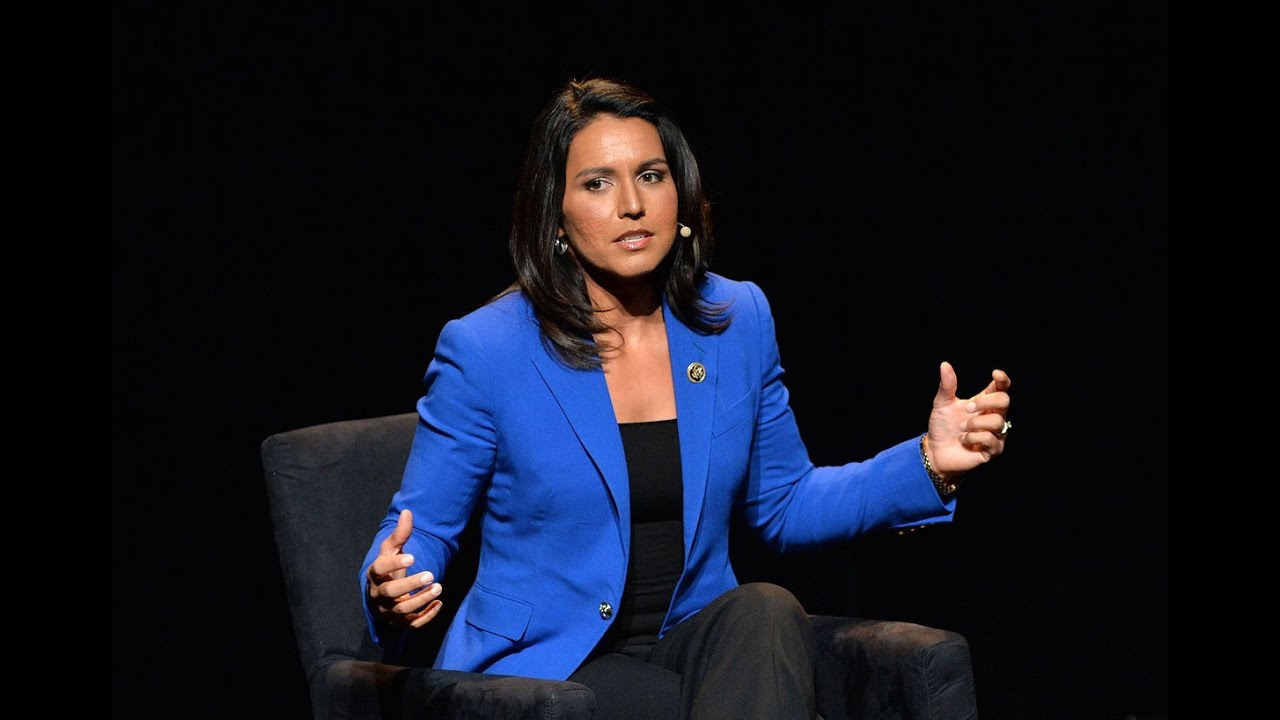 Donald Trump Meets with Female Democrat Tulsi Gabbard 11/21/16 8