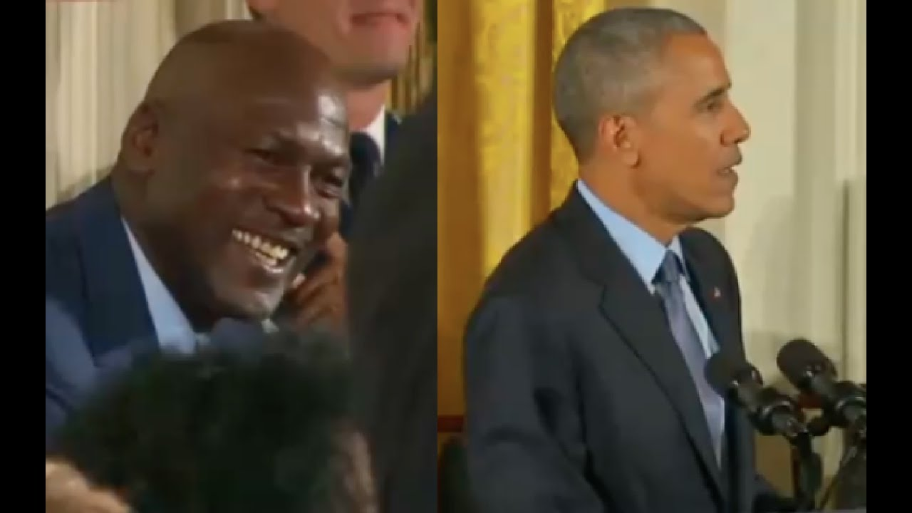 Obama Gives Praises to Michael Jordan 11/22/16 7