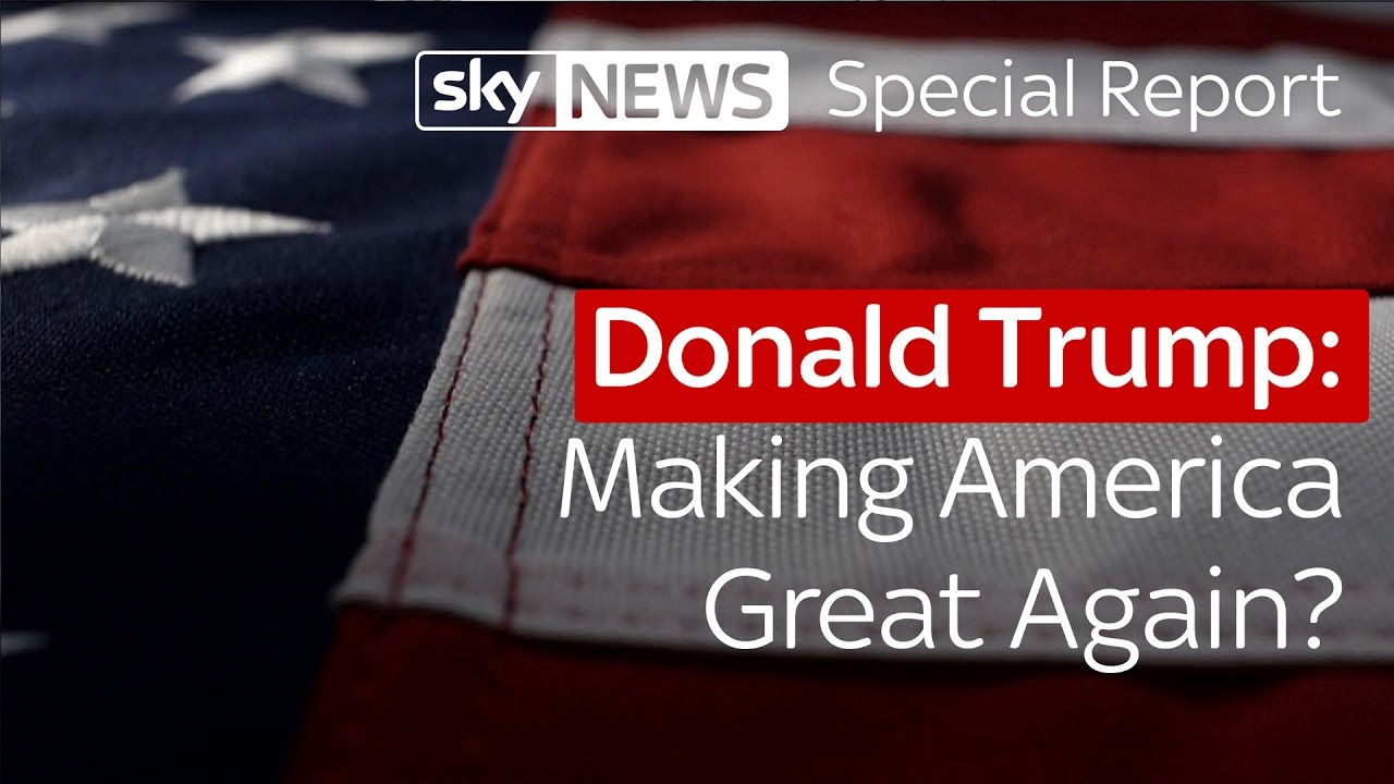 Donald Trump: Making America Great Again? 9