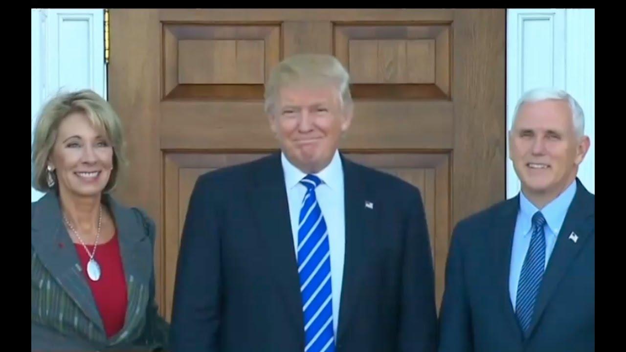 Donald Trump Calls for Unity 11/24/16 3