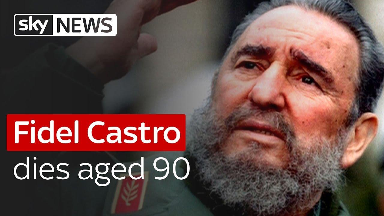 Fidel Castro dies aged 90 6