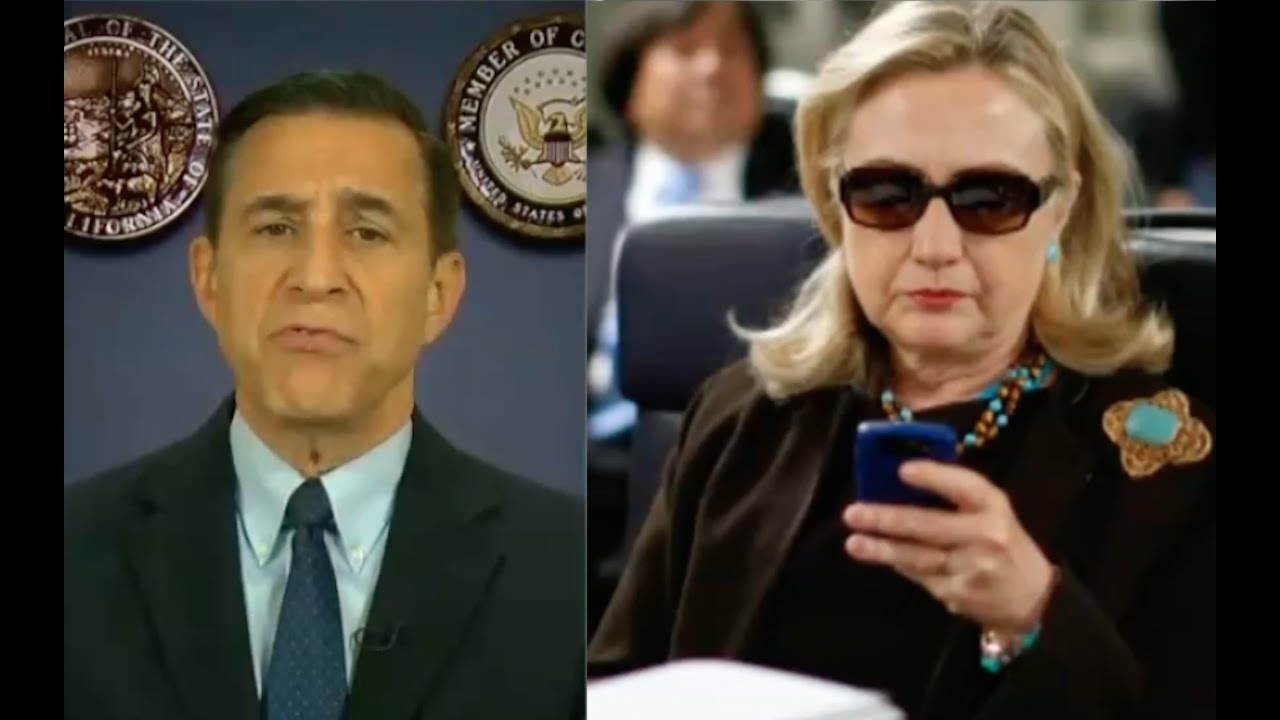 Darrell Issa Updates On Hillary Clinton Investigation! 11/26/16 2